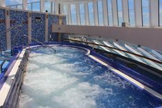 carnival breeze spa | Thalassotherapy pool in the Carnival Breeze spa