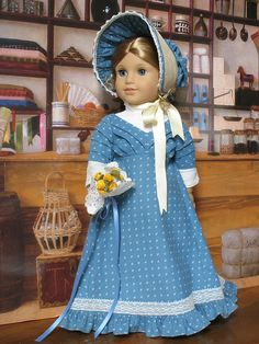 Regency doll outfit from Sugarloaf Doll Clothes via flickr.com