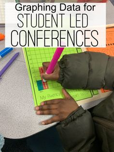 Ready for student led conferences? Here are 4 quick tips to get you and your students prepped and ready for conference day! 3rd Grade Classroom, Future Classroom, Student Data Folders, Student Led Conferences, Teaching Activities, Teaching Ideas, Fluency Practice, Reading Fluency, Classroom Management