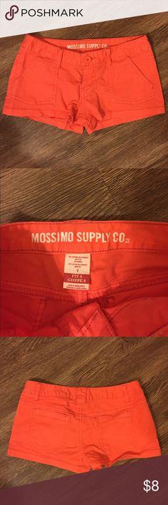 Mossimo Corral Pink/Orange Shorts! Mossimo Corral Pink/Orange Shorts! Mossimo Supply Co Shorts