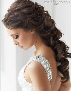 Deslumbrantes penteados de todos os tipos para debutantes -Portal Tudo Aqui