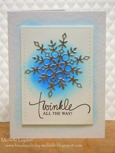 Quick post - I used the sketch for this weeks CASE this sketch #101 for this Christmas card. ...