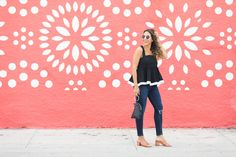 chic-flavours-wearing-milly-peplum-riley-top