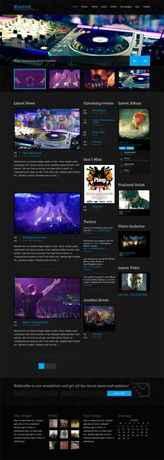 Some of the Best Wordpress Music Themes
