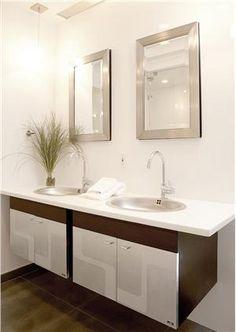 Contemporary (Modern, Retro) Bathroom by Sheila Jones