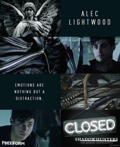 Shadowhunters: What was your first impression of Alec Lightwood? I love Alec
