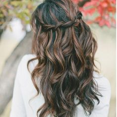 black hair with brown highlights tumblr - Google Search