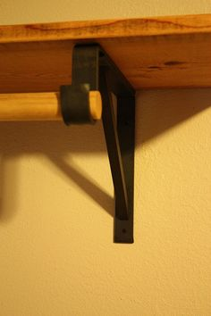 Forged Closet Rod Support Brackets By Volcanoforge On Etsy Kitchen