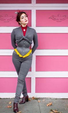 "Pop Antique ""Demoiselle"" corset | Model: Victoria Dagger | Photo © Alyxander Ryan"
