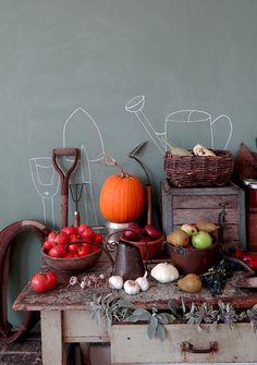 MAKE THIS:  Farm to Table Chalkboard Wall