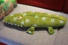 Handmade by Alpenkatzen Dinosaur Stuffed Animal, Toys, Handmade, Animals, Crocodiles, Stuffed Toys, Cuddling, Cats, Activity Toys