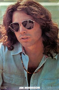 The legendary singer/songwriter and poet - Jim Morrison