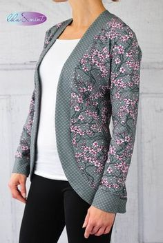 CIRCLE CARDIGAN LADIES GR. 34-54