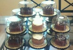 Candy Cakes By Denise... Using our cake containers.