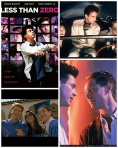 Less than Zero.... Another 1 of my favorite movies from my youth & 1 of main reasons was bcuz of Robert Downey Jr! He's PHENOMENAL!