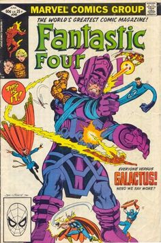 This cover was the basis of one of the Galactus toy sets.
