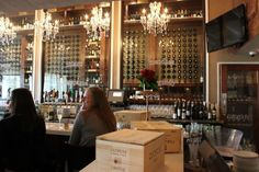 Wine Bar For Theme Bridal Shower