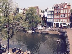 View from Canal House, Amsterdam