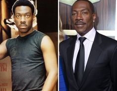 Men of the -- Eddie Murphy Celebrities Then And Now, Eddie Murphy, Stars Then And Now, Famous People, Tank Man, Yearbooks, Celebs, Actors, Hui