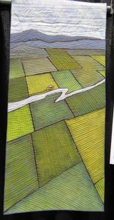 Verdant by Terry Grant, from the Pacific International Quilt Festival 2010