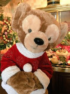 No Christmas could be perfect without Duffy the Disney Bear at Disneyland Paris! #Disney