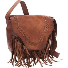 Sharo Leather Leather Fringed Western Cross Body Bag - Dark Brown -... ($125) ❤ liked on Polyvore featuring bags, handbags, shoulder bags, purses, accessories, western, brown, leather crossbody handbags, leather fringe purse and leather purses