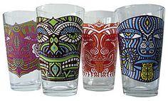 Vermont Tiki Glasses $29.95