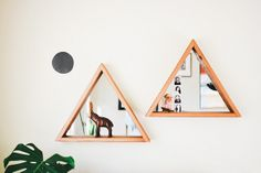 triangle mirrors by @DABITO