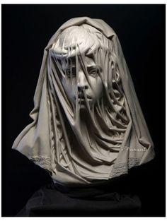 Sculpture Romaine, Portrait Sculpture, Portrait Studio, Oeuvre D'art, Art History, History Memes, Amazing Art, Veil, Art Reference