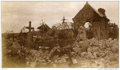 WW1, Curlu cemetery, Somme sept. 1916 -delcampe.net