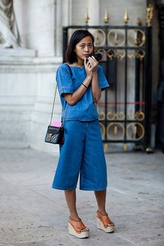 Photo by The Sartorialist.  Cute shoes!