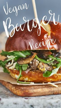 Store-bought isn't good enough. This is the best vegan burger recipe!!! Pin this for later!