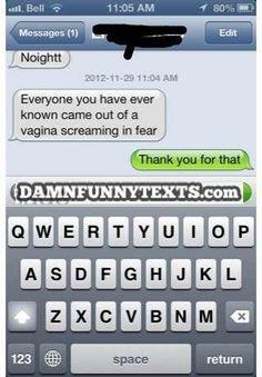 Damn Funny Texts