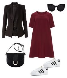 """""""Otoño ❣️"""" by loraine-parroquin on Polyvore featuring moda, Manon Baptiste, Alexandre Vauthier, adidas y A.P.C."""
