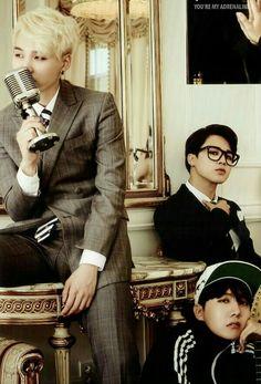 BTS's Suga, Jimin & J-Hope #Fashion #Kpop #Idol