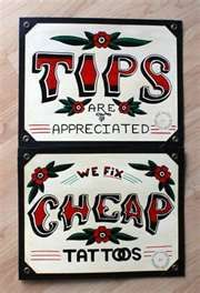 Image detail for -Old school traditional tattoo flash shop signs For Sale - New and Used