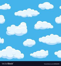 Cartoon Bubbles, Cartoon Clouds, Seamless Background, Geometric Background, Vector Background, Free Vector Images, Vector Free, Pop Up Frame, Abstract Science
