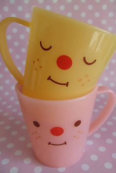 adorable mugs by Decole