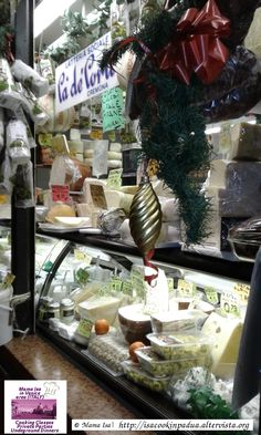 Padova - Padua Italy: explore the food markets with Mama Isa - Cheese Shop