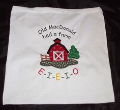 Story Sack Bag Nursery Rhyme Sack Old MacDonald had a Farm Educational Resource