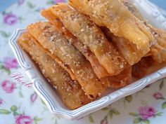 Greek Sweets, Greek Desserts, Greek Recipes, Sweets Cake, Pastry Cake, Mediterranean Recipes, Confectionery, Cookie Recipes, Bacon