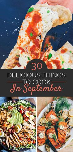 30 Things You Need To Cook In September