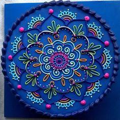 Mandala @dedacrema #cumpleaños #birthday #cake #torta #festejo