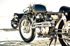 Nice stripped down cl350
