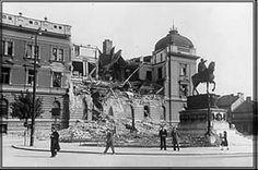 WWII. - 1941. - Beograd nakon bombardovanja