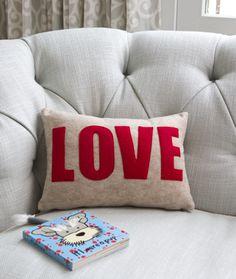 Alexandra Ferguson LOVE Pillow (10x14)