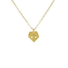 Gorgeous little fox gold necklace for moms is the must-have accessory for everyday wear.
