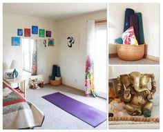 101 Best Home Yoga Space Images On Pinterest   Yoga Rooms, Zen Space And  Ideas