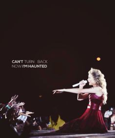 Day 9: Favorite Song on Speak Now... Haunted, followed very closely by Enchanted and Better Than Revenge