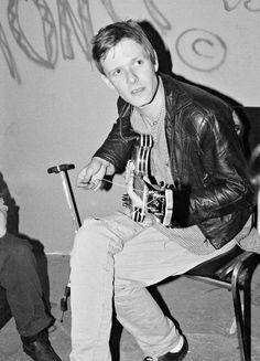 Michael Gira, Danceteria, New York, 18 June 1982 // By Catherine Ceresole